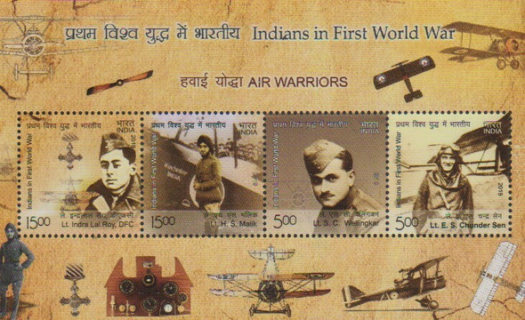 INDIA (2020)-- WWI AVIATORS Sheet