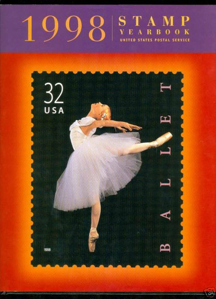 USPS (1998)-- COMMEMORATIVE STAMP YEAR BOOK