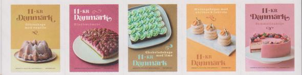 DENMARK (2021)- Fancy Cakes (5 values)
