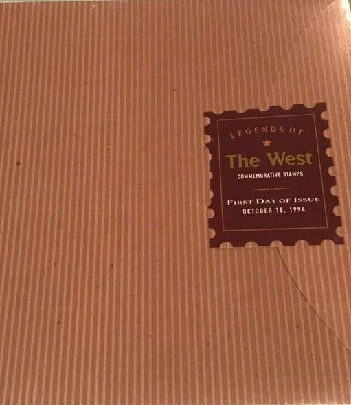 US (1994)- LEGENDS OF THE WEST SHEET +  FIRST DAY CEREMONY PROGRAM W/FIRST DAY SHEET CANCELLATION