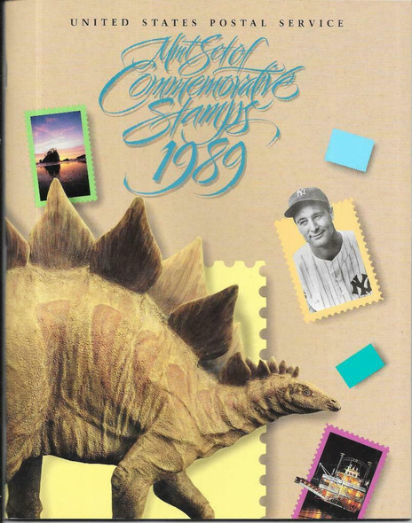 USPS (1989)- -COMMEMORATIVE YEAR BOOK w/Stamps