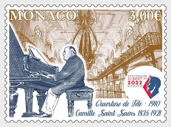 MONACO (2021)- Camille Saint-Saens, Composer