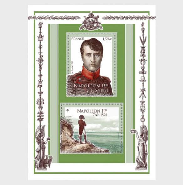 FRANCE  (2021)- Napoleon, souvenir sheet