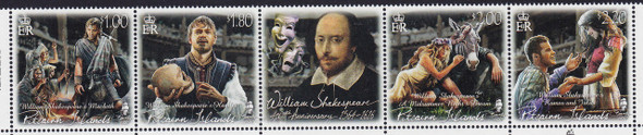 PITCAIRN IS. (2016) - Shakespeare 400th Anniversary-- Theater Scenes (4)