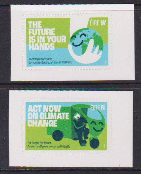 IRELAND (2021)- CLIMATE CHANGE- Call for Action (2v)