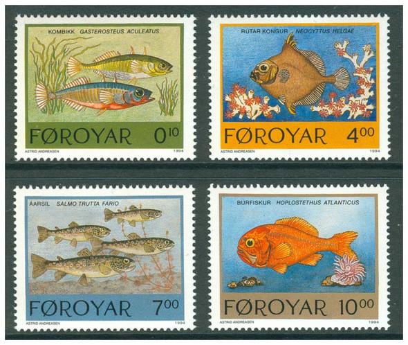 FAROE ISLAND (1994)- FISH - 4v