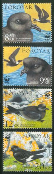 FAROE ISLAND (2005)- WWF Petrel Birds
