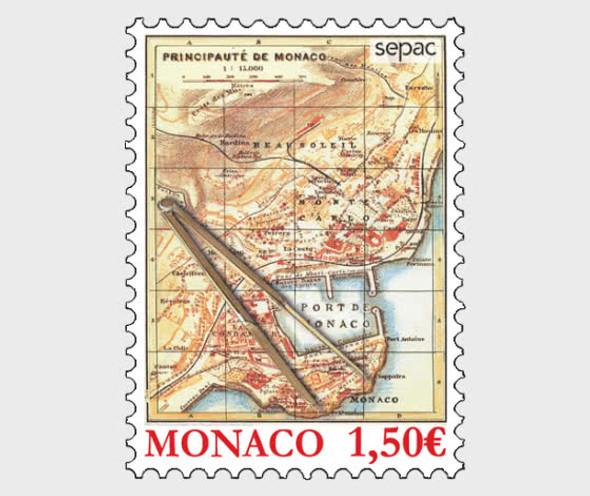 MONACO  (2021)-SEPAC - Old Maps