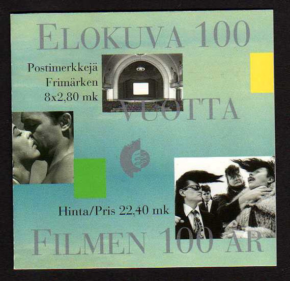 FINLAND (1996)- CINEMA BOOKLET- 8 VALUES