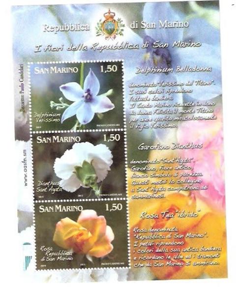 Flowers- souvenir sheet