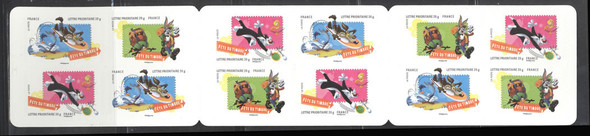 FRANCE- French Stamp Festival Looney Tunes Booklet- self adh boo
