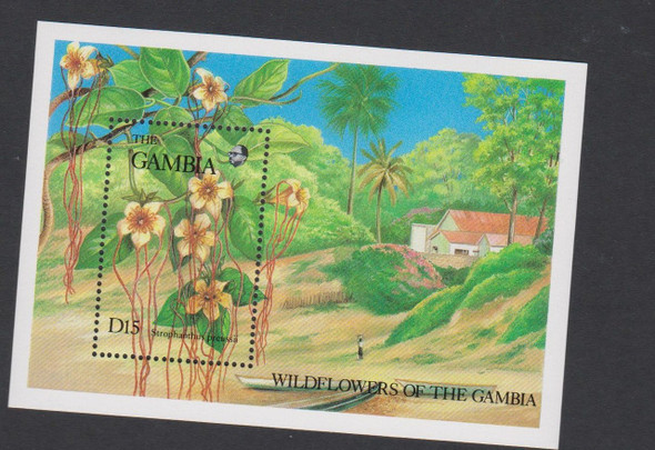 GAMBIA (1987) Wildflower SS