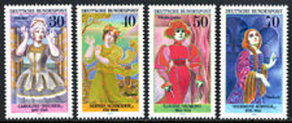 GERMANY (1976) ACTRESSES (4v)
