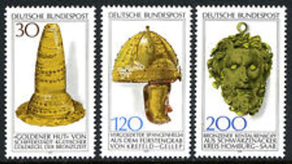 GERMANY (1977) Archaeological Heritage (3v)