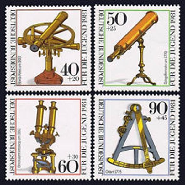 GERMANY (1981) Optical Instruments (4v)