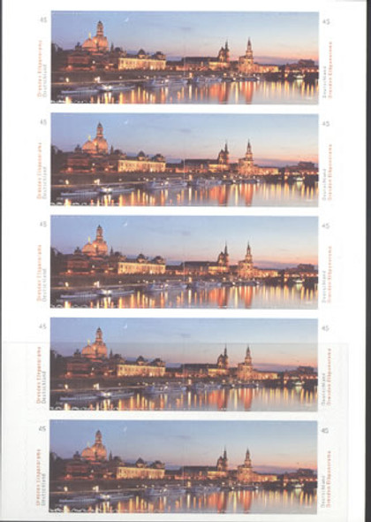 GERMANY (2014) : Dresden Booklet- self-adhesive