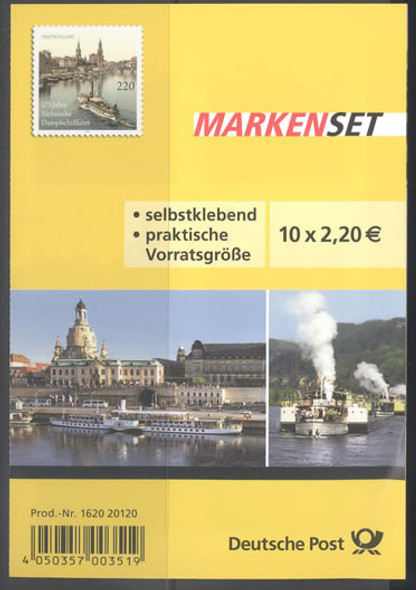 GERMANY- Riverboat Booklet- self-adhesive