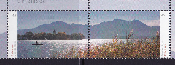 GERMANY: Chiemsee Fresh Water Lake- cont design (2)