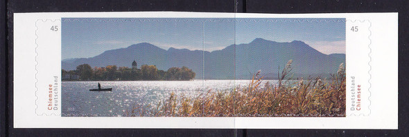 GERMANY: Chiemsee Fresh Water Lake- self-adhesive- cont design (2)