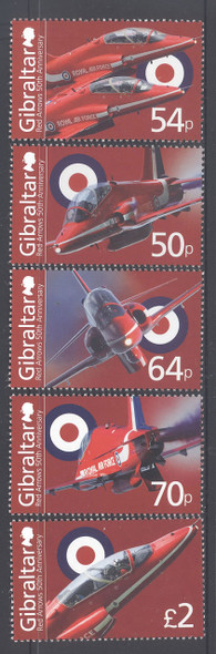 GIBRALTAR (2015): Royal Air Force- jets (5)