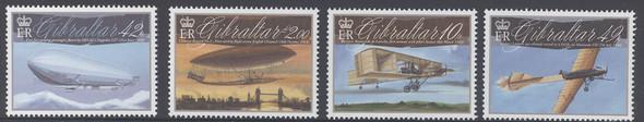 GIBRALTAR- Aviation Centenary- Zeppelin- 1st woman pilot- aircraft (4)