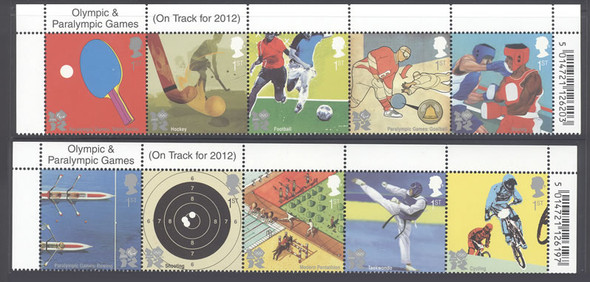 GREAT BRITAIN- 2012 Olympics and Paralympics- cycling- soccer- ping pong- boxing etc (10)