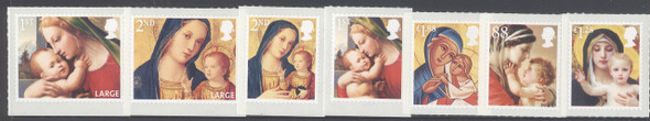 GREAT BRITAIN- Christmas 2013- self-adhesive- religious (7)