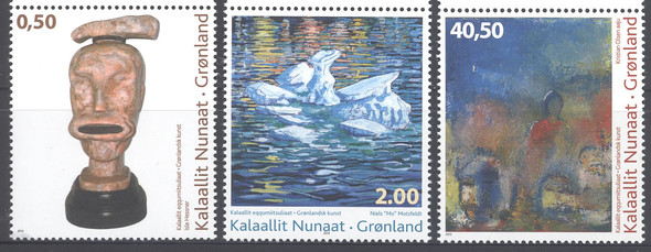 GREENLAND (2013) - Contemporary Art VII- sculpture- paintings (3)