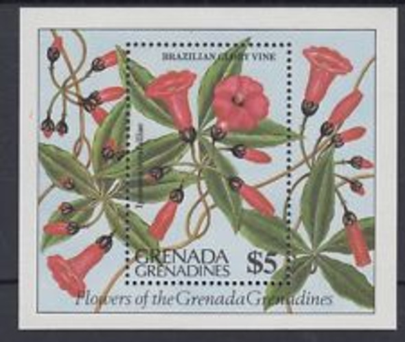 GRENADA GRENADINES (1984) Flower SS