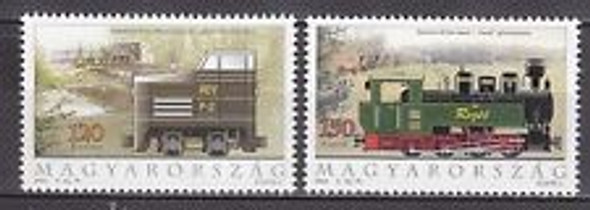 HUNGARY (2004) Trains (2v)