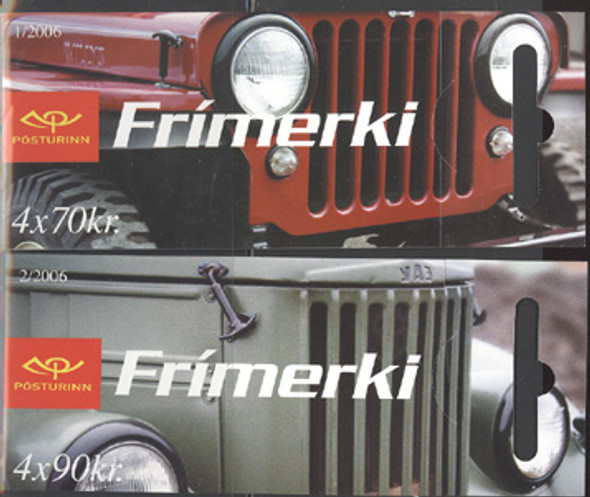 Iceland (2006) Jeeps- booklets (2)
