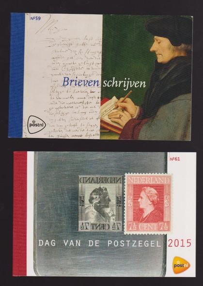 Netherlands: NETHERLANDS 4 Prestige Booklets Our Original Retail $231