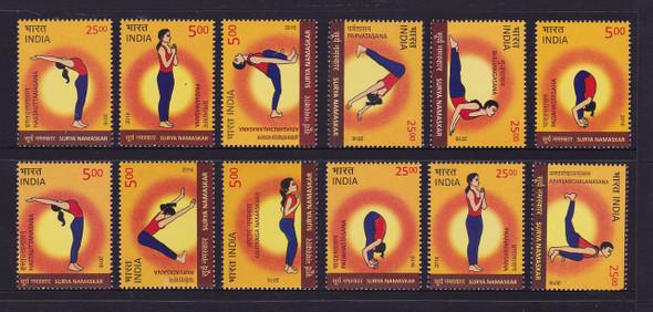 INDIA (2016)- Surya Namaskar Yoga Poses (12)