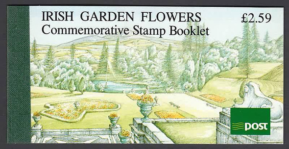 IRELAND (1990)- IRISH GARDEN FLOWERS PRESTIGE BOOKLET