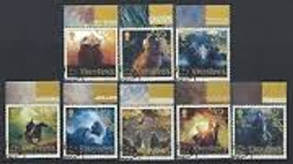 ISLE OF MAN (2003) LORD OF RINGS (8v)