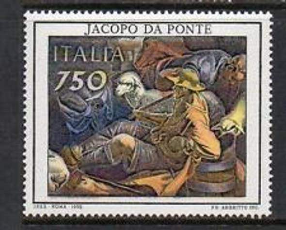 ITALY (1993) ART, JACOPO DA PONTE (1v)