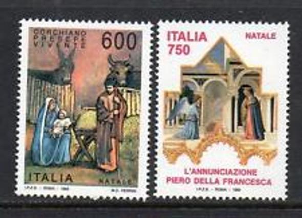 ITALY (1993) Christmas, Religious (2v)