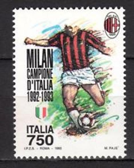 ITALY (1993) SOCCER,Milan  (1v)