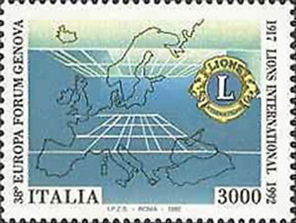 ITALY (1993)- Lion's Club