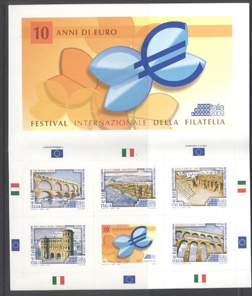 ITALY (2009) - Philatelic Exhibit Prestige Booklet-  Archaeology