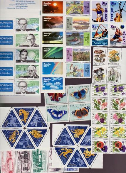Sweden: SWEDEN (1990-2000) 20 Booklet Panes SCV>$300