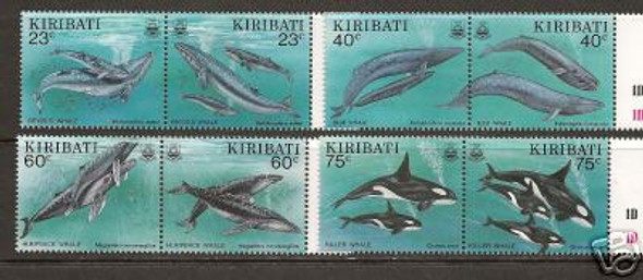 KIRIBATI (1994)- Whales (8 values)