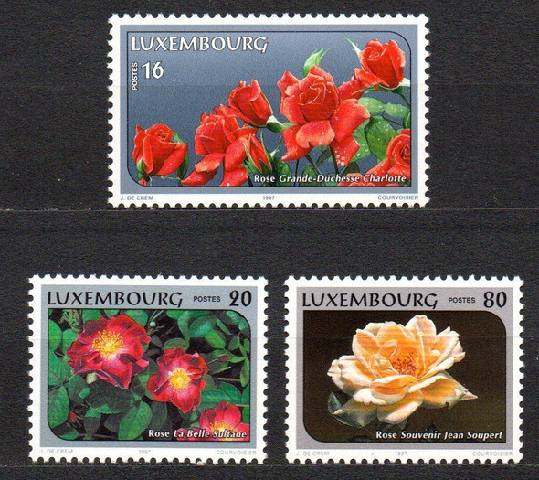 Luxembourg (1997)- Roses (3v)