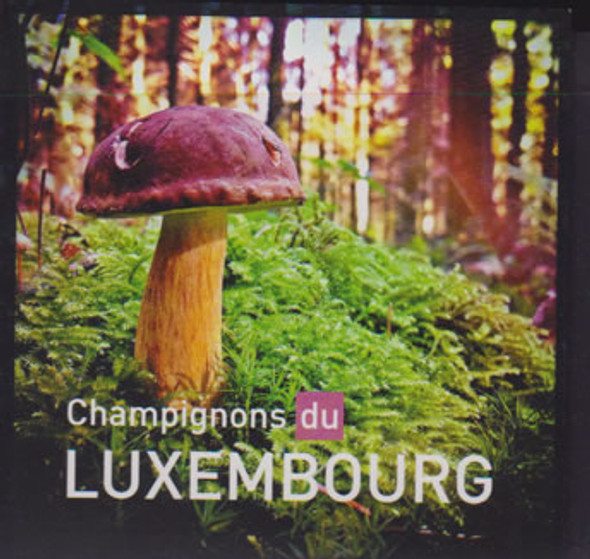 LUXEMBOURG- Mushrooms 2013 Booklet- self-adhesive