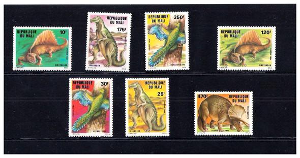 MALAWI (1993)- DINOSAUR SHEET OF 6