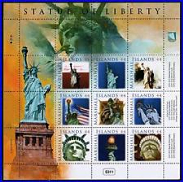 MARSHALL ISLANDS (2010) Satue of liberty Full Sheet