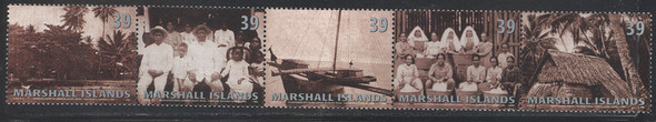 MARSHALL ISLANDS- Culture (Part IV)- palm tree-sail boat- grass