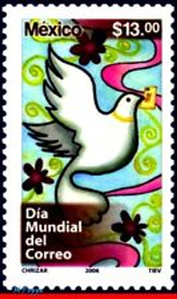 MEXICO (2006) Dove World Post Day (1v)