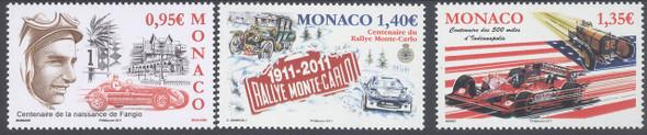 MONACO- Auto Racing- Monte Carlo- Indianapolis- Fangio (3)