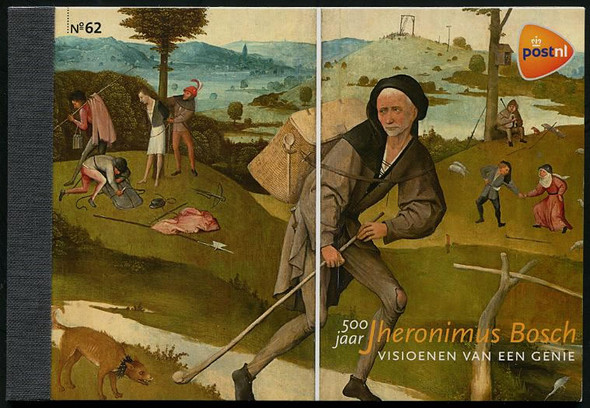 NETHERLANDS (2016):: Jheronimus Bosch Prestige Booklet (Artist)